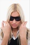 Menina com sunglass Fotografia de Stock Royalty Free