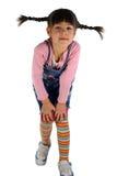 Menina com a trança Fotos de Stock