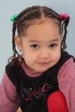 Menina com tranças Fotos de Stock Royalty Free
