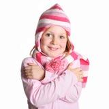 Menina com um chapéu Imagem de Stock Royalty Free