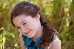 Menina com um sorriso grande Foto de Stock Royalty Free
