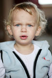 Menina confusa Fotos de Stock Royalty Free
