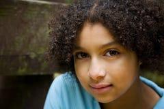 Menina consideravelmente Biracial #3 Fotografia de Stock