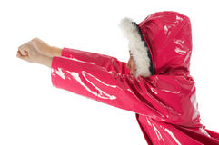 Menina cor-de-rosa super Fotos de Stock Royalty Free