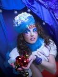 Menina creativa Imagens de Stock Royalty Free