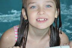 Menina-criança na associação Fotos de Stock