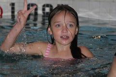 Menina-criança na associação Foto de Stock Royalty Free