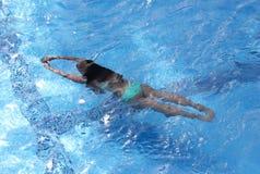 Menina da água Imagens de Stock Royalty Free