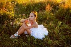 Menina da bailarina imagem de stock
