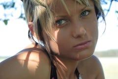 Menina da beleza Fotografia de Stock
