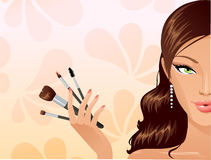 Menina da beleza Imagem de Stock Royalty Free