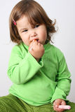 Menina da criança imagem de stock royalty free