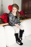 Menina da criança da beleza e da forma imagem de stock royalty free