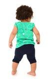 Menina da criança que anda afastado Imagem de Stock Royalty Free