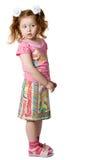 Menina da curiosidade Imagens de Stock Royalty Free
