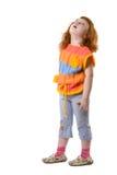 Menina da curiosidade Imagens de Stock