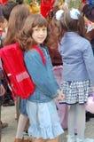 Menina da escola Fotos de Stock Royalty Free