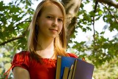 Menina da escola Fotos de Stock