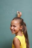 Menina da escola fotografia de stock