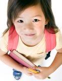 Menina da escola Imagens de Stock