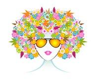 Menina da forma de Aromatherapy Fotos de Stock Royalty Free