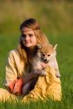 Menina da hippie Imagem de Stock