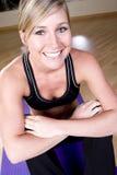 Menina da ioga imagem de stock royalty free