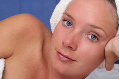 Menina da massagem Imagem de Stock Royalty Free