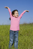 Menina da mola Imagens de Stock Royalty Free