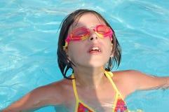 Menina da natação Foto de Stock Royalty Free