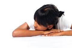 Menina Daydreaming Fotos de Stock