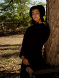 Menina de Amish Imagem de Stock Royalty Free