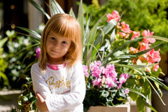 Menina de Barbie Fotografia de Stock Royalty Free