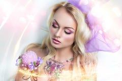 Menina de Barbie Foto de Stock Royalty Free