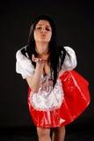 Menina de Baviera Imagem de Stock