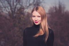 Menina de Blondy Fotografia de Stock