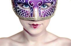 Menina de Carnaval imagens de stock