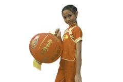 Menina de Chiness Imagens de Stock Royalty Free
