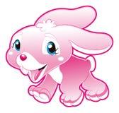 Menina de coelho do bebê Fotografia de Stock