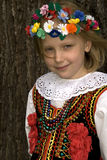 Menina de Cracow fotografia de stock royalty free