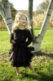 Menina de dança Imagens de Stock Royalty Free