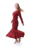 Menina de dança Imagens de Stock