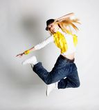 Menina de dança Foto de Stock Royalty Free