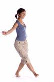 Menina de dança Fotos de Stock