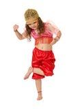 A menina de dança Imagens de Stock Royalty Free