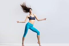 Menina de dança fresca Fotografia de Stock