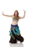 Menina de dança nova da barriga fotos de stock royalty free