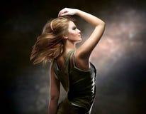 Menina de dança Fotografia de Stock Royalty Free