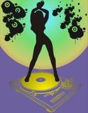 Menina de dança Fotografia de Stock