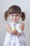Menina de Easter Imagem de Stock Royalty Free